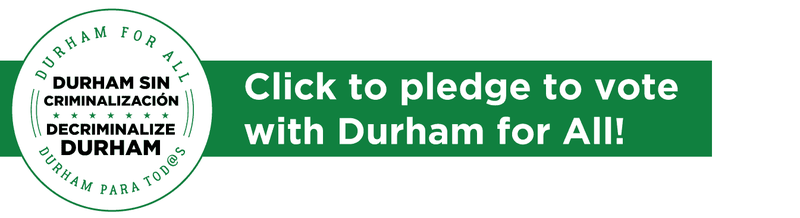 Click to pledge to vote with Durham for ALl